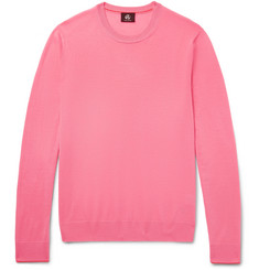 PS by Paul Smith Contrast-Tipped Merino Wool Sweater