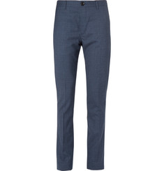 PS by Paul Smith Slim-Fit Checked Wool Trousers
