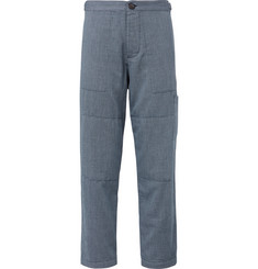 Oliver Spencer Judo Cotton-Jacquard Trousers
