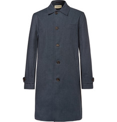 Oliver Spencer Beaumont Cotton-Blend Twill Raincoat