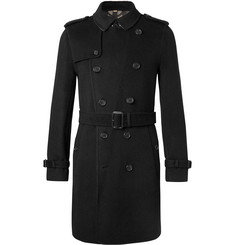 Burberry Cashmere and Virgin Wool-Blend Trench Coat