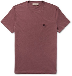 Burberry Slim-Fit Mélange Cotton-Jersey T-Shirt