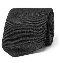 Alexander McQueen - 7cm Embroidered Silk-Twill Tie