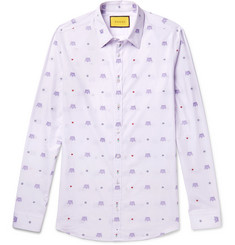 Gucci Slim-Fit Cotton-Jacquard Shirt