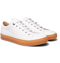 Lanvin - Cap-Toe Leather Sneakers