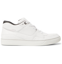 Lanvin Perforated Leather Sneakers