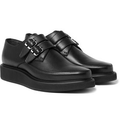 Lanvin - Leather Monk-Strap Shoes