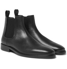 Lanvin Full-Grain Leather Chelsea Boots
