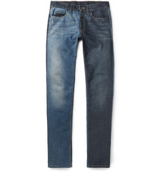 Lanvin Slim-Fit Two-Tone Denim Jeans