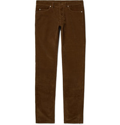 Lanvin Slim-Fit Cotton-Corduroy Trousers