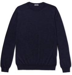 Lanvin Slub Merino Wool Sweater