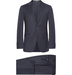 Lanvin Blue Slim-Fit Wool and Cashmere-Blend Suit