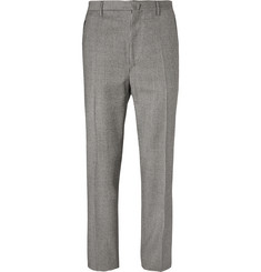 Lanvin - Slim-Fit Puppytooth Wool Trousers