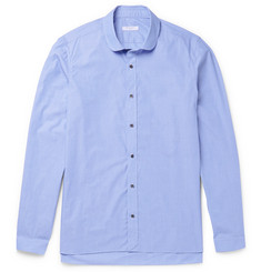 Boglioli Penny-Collar End-on-End Cotton Shirt