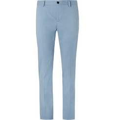 Etro Slim-Fit Brushed Stretch-Cotton Twill Chinos