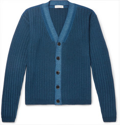 Etro Ribbed Wool Cardigan