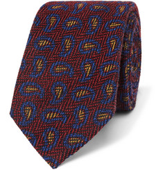 Etro - 6cm Paisley Wool and Silk-Blend Jacquard Tie