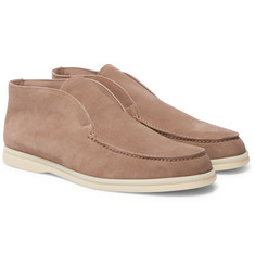 Loro Piana - Open Walk Suede Loafers