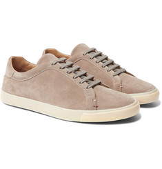 Loro Piana - Freetime Suede Sneakers