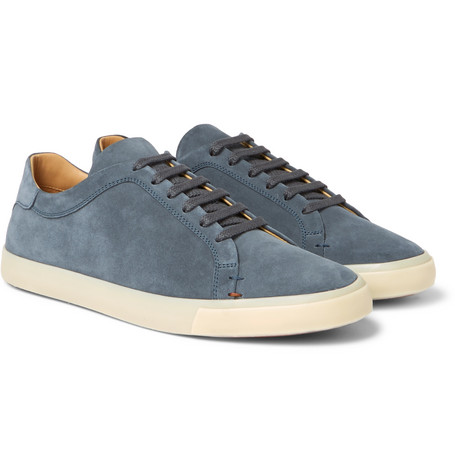 Freetime Suede Sneakers - Navy