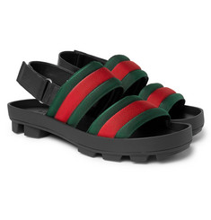 Gucci - Webbing Sandals