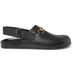 Gucci Horsebit Leather Sandals