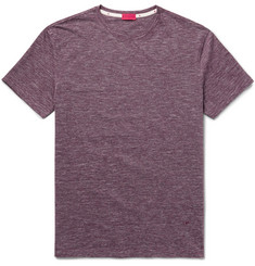 Isaia Space-Dyed Cotton-Jersey T-Shirt