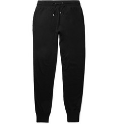 TOM FORD Cotton, Silk and Cashmere-Blend Jersey Sweatpants