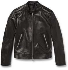 TOM FORD - Quilted Leather Biker Jacket