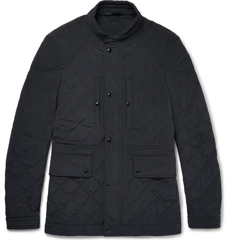 Tom Ford Cashmeres QUILTED SHELL FIELD JACKET