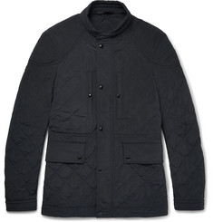 TOM FORD - Quilted Shell Field Jacket