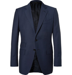 TOM FORD Blue O'Connor Slim-Fit Wool Suit Jacket