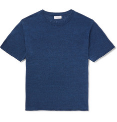 Saturdays NYC Pacho Cotton and Linen-Blend T-Shirt