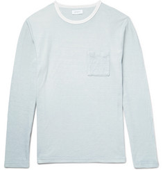 Saturdays NYC James Field Textured-Cotton T-Shirt