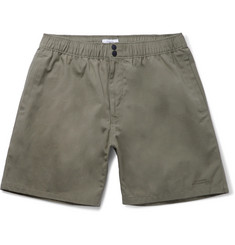 Saturdays NYC Trent Mid-Length Cotton-Canvas Swim Shorts