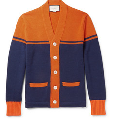 Gucci - Embroidered and Appliquéd Wool Cardigan