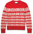 Gucci - Loved Slim-Fit Wool-Jacquard Sweater
