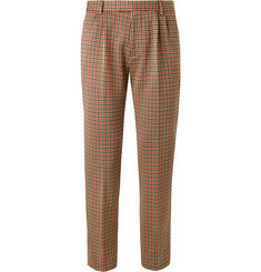 Gucci Slim-Fit Cotton-Blend Houndstooth Trousers
