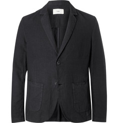 Folk Unstructured Linen and Cotton-Blend Blazer