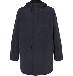 Folk Tech-Canvas Parka