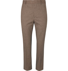 Bottega Veneta Slim-Fit Checked Woven Trousers