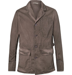 Bottega Veneta Garment-Dyed Cotton Blazer