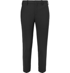 Neil Barrett Slim-Fit Zip-Detailed Woven Trousers