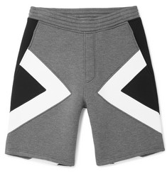 Neil Barrett Panelled Neoprene Shorts