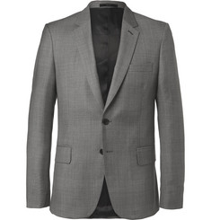 Paul Smith Grey Soho Slim-Fit Prince of Wales Checked Wool Suit Jacket