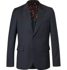 Paul Smith Blue Soho Slim-Fit Wool Suit Jacket