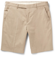 Paul Smith Brushed-Cotton Chino Shorts