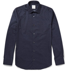 Paul Smith Slim-Fit Aeroplane-Printed Cotton-Poplin Shirt
