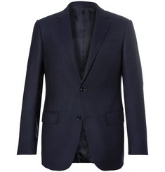Ermenegildo Zegna - Navy Slim-Fit Wool Blazer