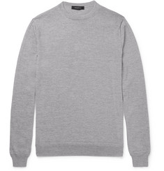 Ermenegildo Zegna Wool and Cashmere-Blend Sweater